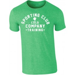 Sporting Club Homme T-Shirt Vert Cold Company