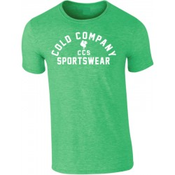 Sportswear Men T-Shirt Green Cold Company
