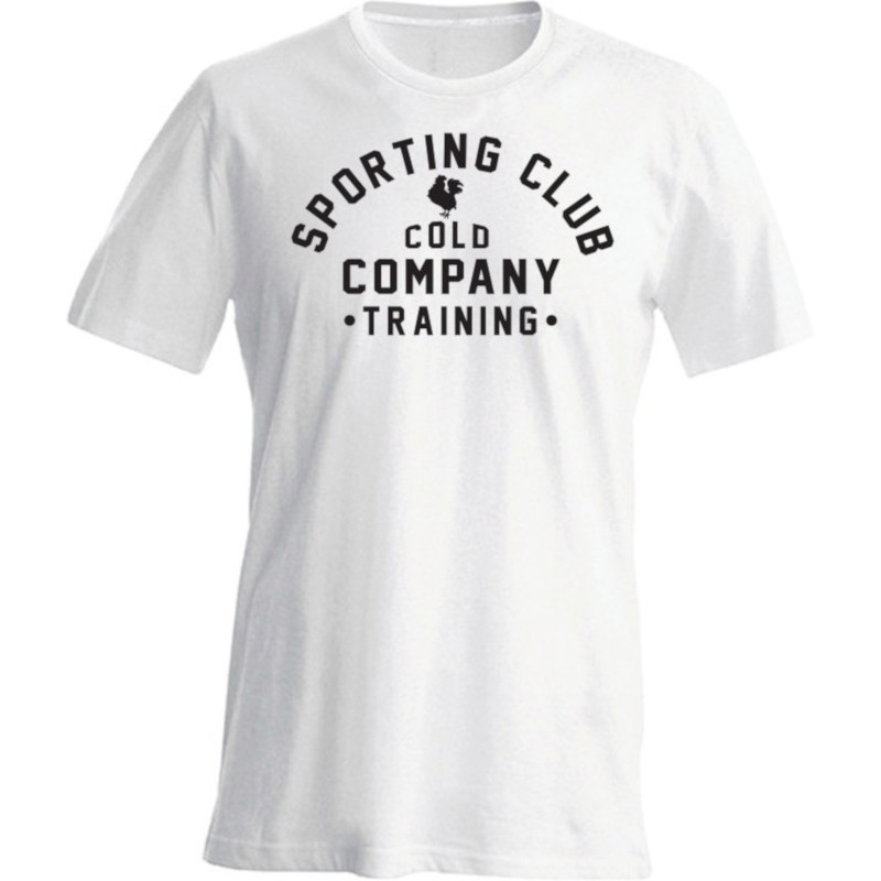 Sporting Club Men T-Shirt Organic White Cold Company