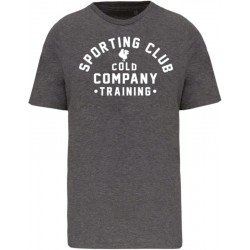 Sporting Club Men T-Shirt Organic Grey Cold Company