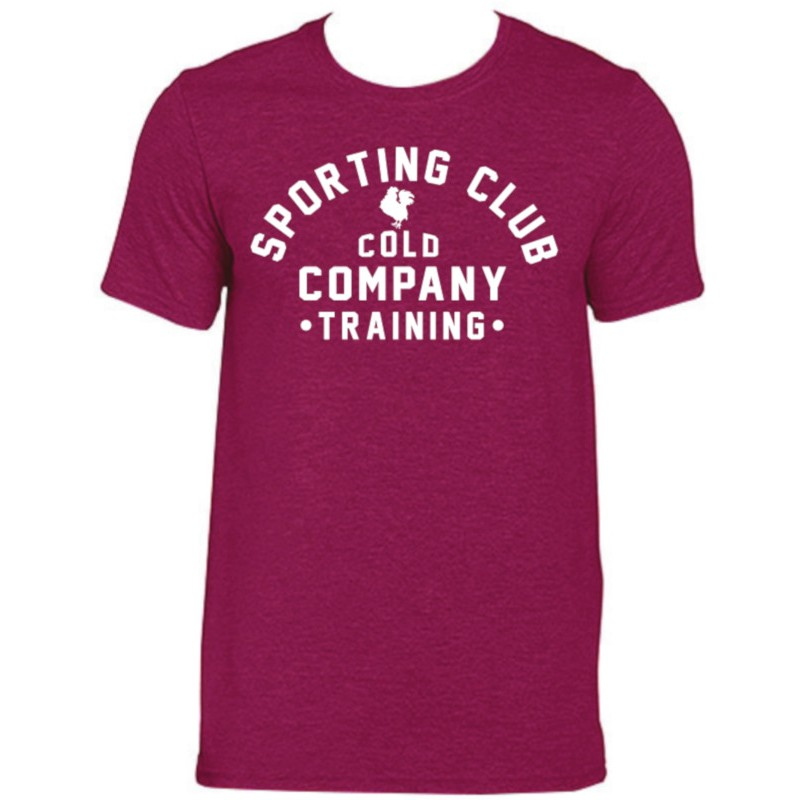 Sporting Club Men T-Shirt Organic Wine Cold Company
