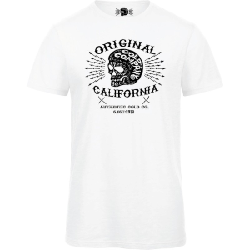 Original Men Cold Company T-Shirt Organic White