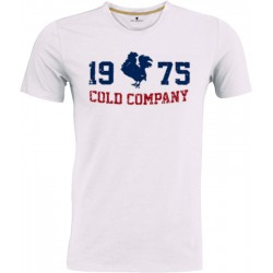 Vintage Coq Men 1975 Cold T-Shirt White