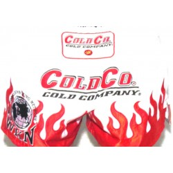 Cold Company WKN Shorts Muay Thai White World Kickboxing Network
