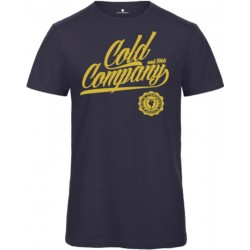 Cold Company Women T-Shirt Organic Navy