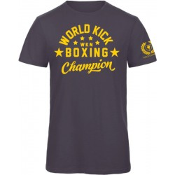 Champion WKN T-Shirt Navy Men World Kickboxing Network